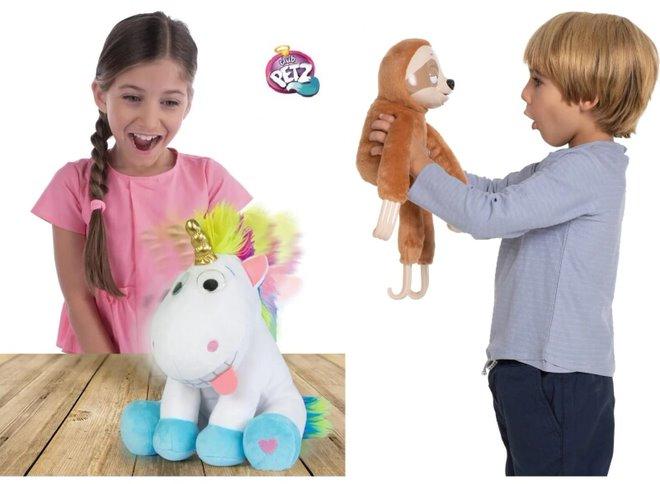 Interaktivní mazlíčci - plyšový pes, kočka a koník